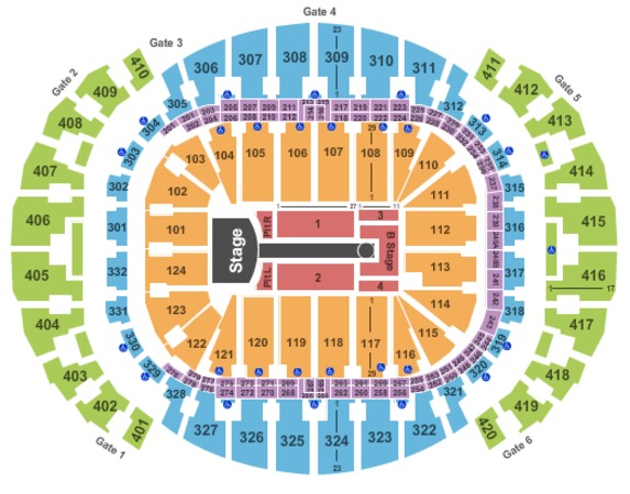 AmericanAirlines Arena Taylor Swift