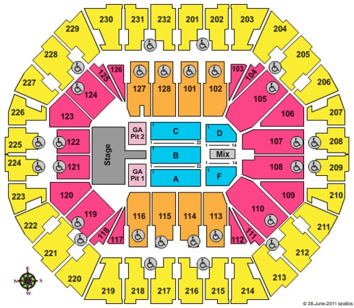 Oracle Stadium: Oracle Arena Tickets In Oakland California, Oracle Arena