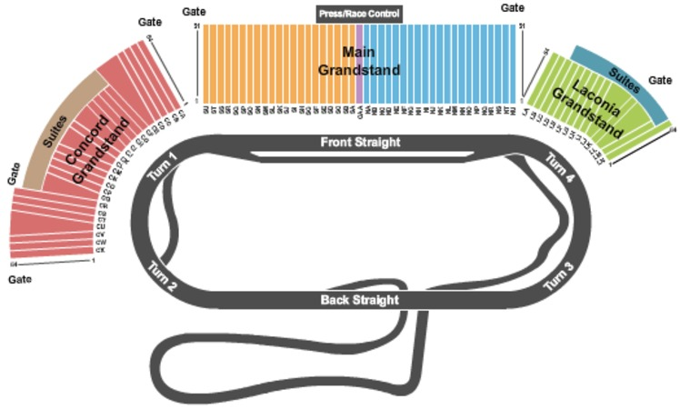 New hampshire motor speedway tickets in loudon new for Cheap hotels near las vegas motor speedway