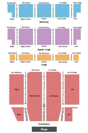 United palace theatre tickets in new york seating charts events