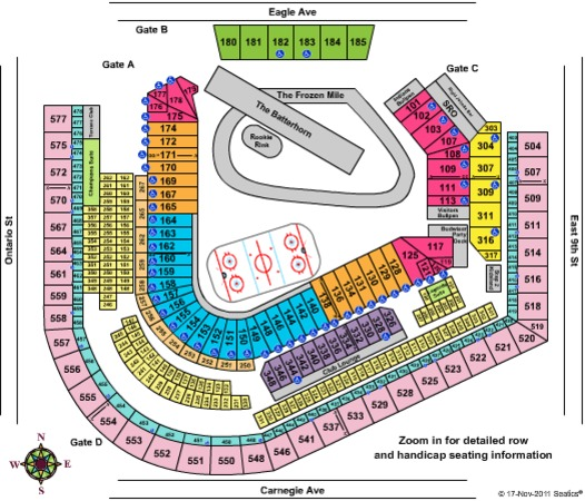 Progressive Field Tickets In Cleveland Ohio Progressive Field