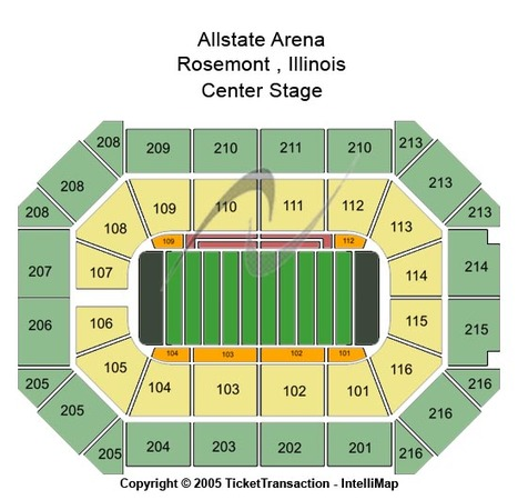 Allstate Arena Football