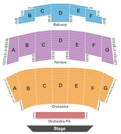 Rabobank Theater Tickets In Bakersfield California Seating Charts Events And Schedule