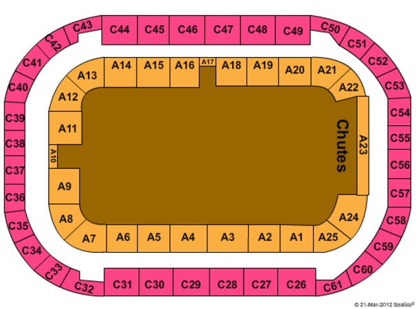 Arena At Ford Idaho Center Pbr
