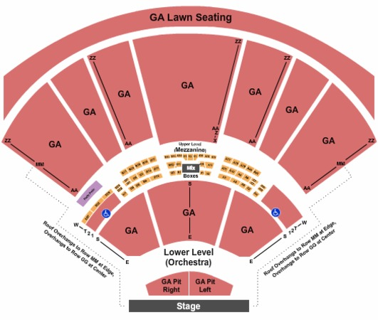 Hollywood Casino Amphitheatre General Admission