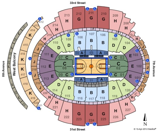 Madison Square Garden Basketball-Zone-Phase 2