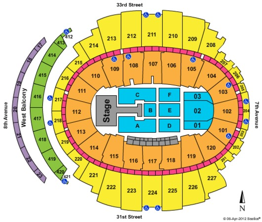 Madison Square Garden One Direction - Phase 2