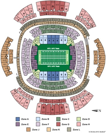 Mercedes benz superdome tickets in new orleans louisiana for Mercedes benz dome seating chart