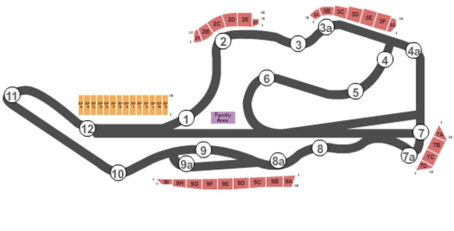 Sonoma Raceway Tickets In Sonoma California Sonoma