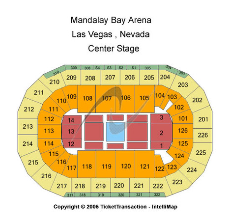 Mandalay Bay - Events Center Center Stage