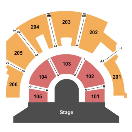 Mystere Theatre - Treasure Island End Stage