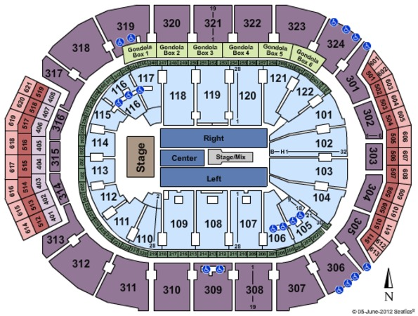 Air Canada Centre One Direction