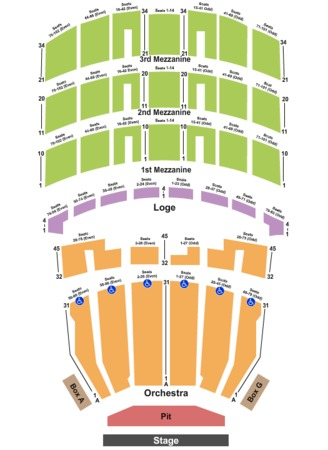Shrine Auditorium End Stage