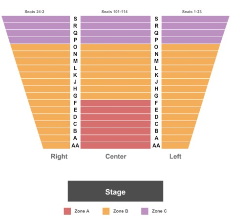 Meadow brook theatre tickets in rochester michigan seating charts