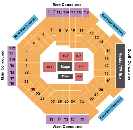 VELO Event Center - Dignity Health Sports Park Tickets in ...