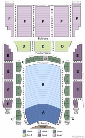 Lyric Opera House Tickets In Baltimore Maryland Lyric Opera