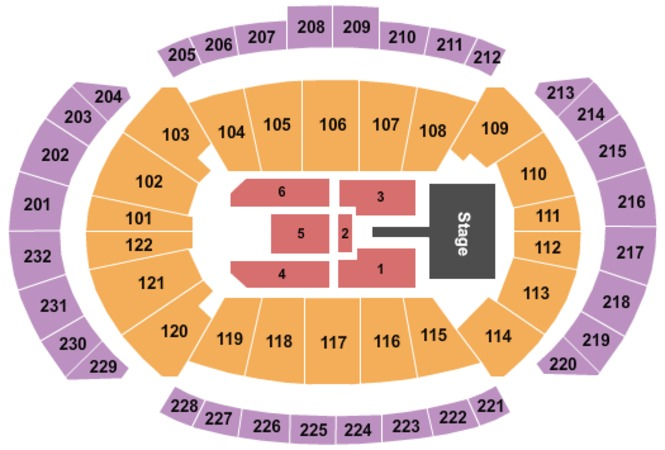 Sprint Center Maroon 5 2020