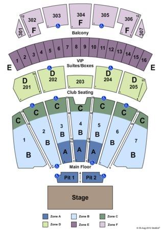 Comerica theatre phoenix seating chart