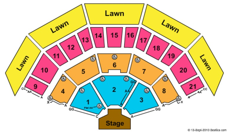 American Family Insurance Amphitheater Tickets In Milwaukee