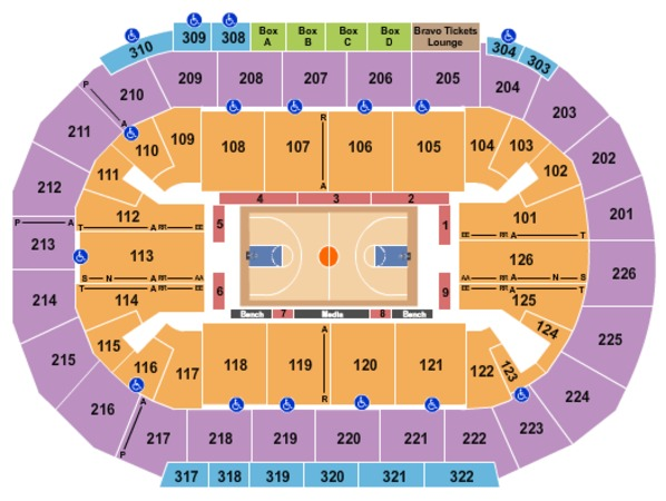 Mandalay Bay - Events Center Basketball