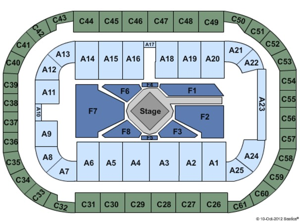 Arena At Ford Idaho Center Tickets In Nampa Seating