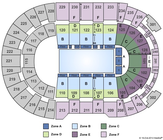 Dunkin Donuts Center Tickets in Providence Rhode Island ...