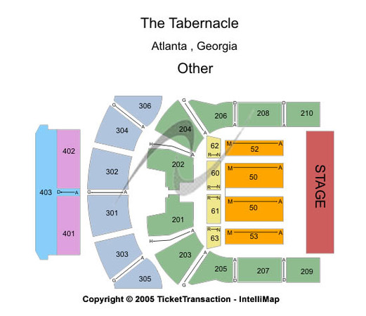 The tabernacle tickets in atlanta georgia the tabernacle seating