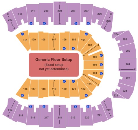 CenturyLink Center Generic Floor
