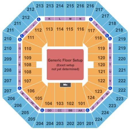 Sleep Train Arena Generic Floor