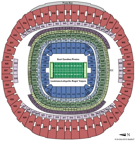 Mercedes benz superdome tickets in new orleans louisiana for Mercedes benz superdome new orleans la