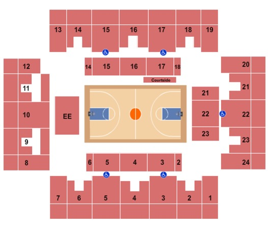 Stabler Arena Tickets In Bethlehem Pennsylvania Stabler Arena Seating Charts Events And Schedule