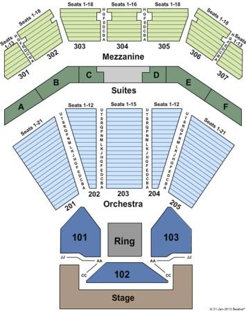 Horseshoe casino hammond indiana seating chart