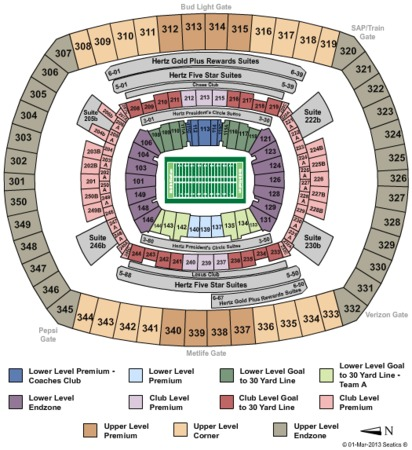 MetLife Stadium Superbowl 2014 Zone2