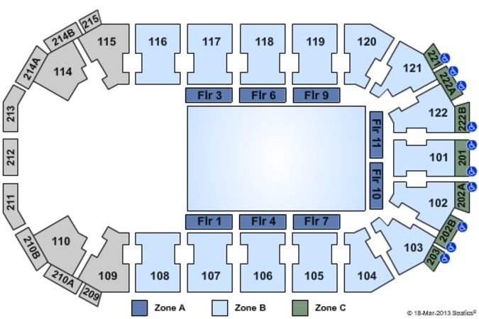 HEB Center at Cedar Park Disney On Ice - Zone (Dont Use)