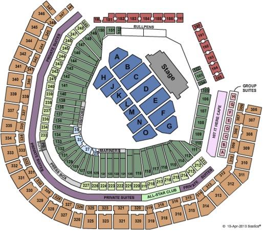 Safeco Field Tickets in Seattle Washington, Safeco Field ...