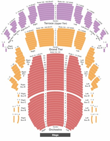 Meyerhoff symphony hall tickets in baltimore maryland seating