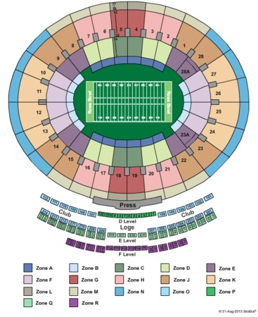 Rose Bowl 2014 Bcs Tickets