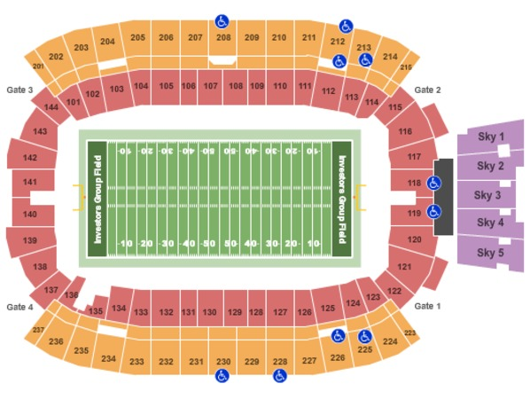 Investors Group Field Football - Canada