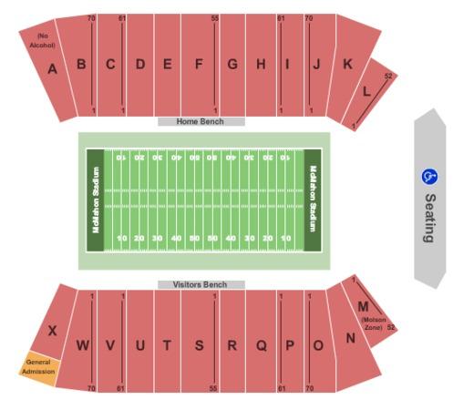 Mcmahon Stadium Tickets In Calgary Alberta Mcmahon
