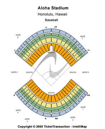 aloha stadium tickets in aiea hawaii aloha stadium seating charts