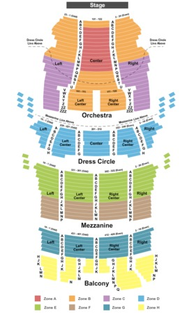 Bank Of America Theatre Endstage - Zone 3