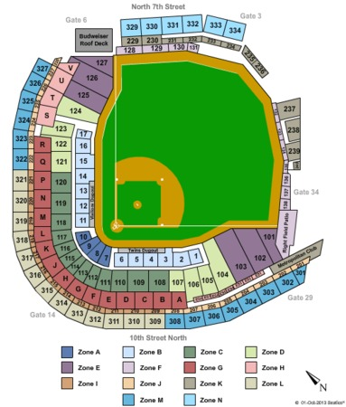 Target Field 2014 MLB All Star - Zone