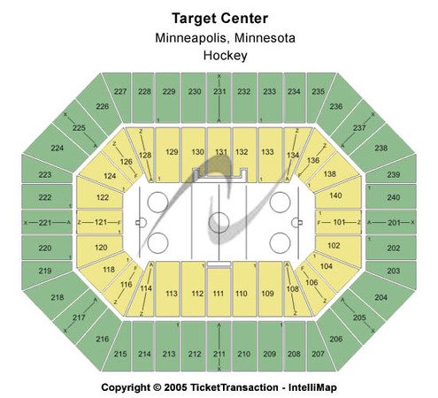Target Center Hockey