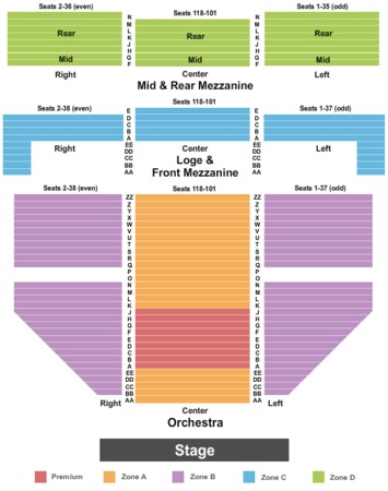 Gershwin Theatre Endstage 2 Int Zone
