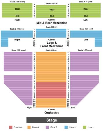 Gershwin Theatre Endstage 2 Int Zone