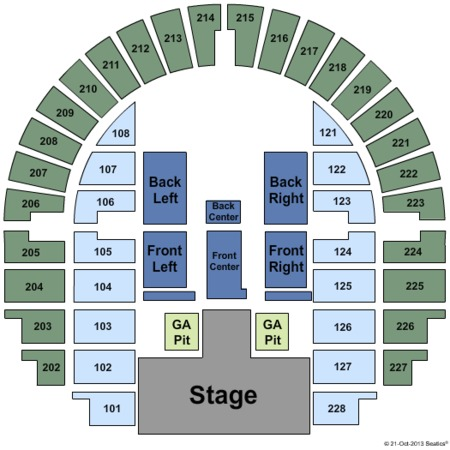 Bell County Expo Center Tickets In Belton Texas Seating