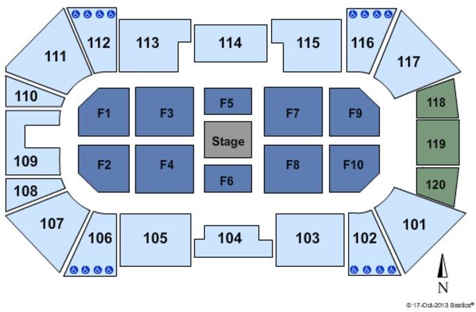Ralston Arena Center Stage