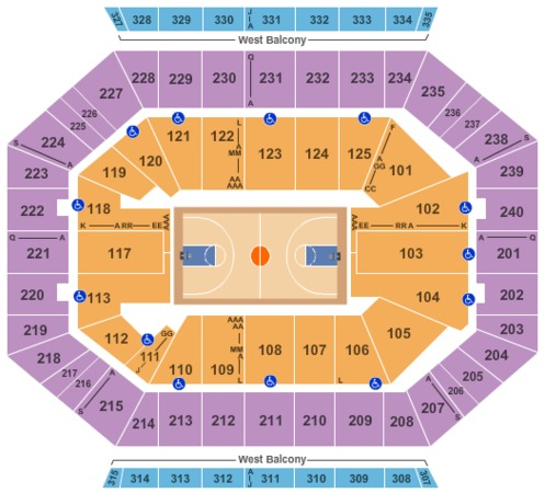 DCU Center Basketball