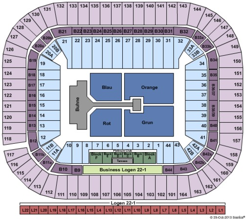 Esprit Arena Tickets In D 252 Sseldorf North Rhine Westphalia