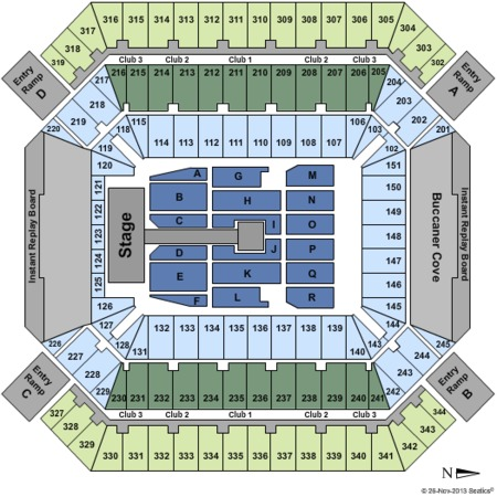Raymond James Stadium One Direction